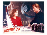 Rocketship X-M, Osa Massen & Lloyd Bridges, 1950 Photo