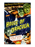 House of Dracula, 1945 Posters