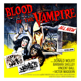 Blood of the Vampire, 1958 Poster