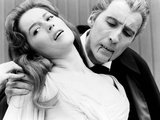 Dracula: Prince of Darkness, Barbara Shelley, Christopher Lee, 1966 Prints