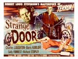 The Strange Door, Charles Laughton, Boris Karloff, Sally Forrest, 1951 Prints