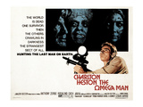 The Omega Man, Charleton Heston, 1971 Print