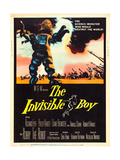 The Invisible Boy, Robby the Robot, 1957 Kunstdrucke