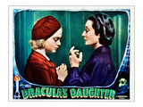 Dracula's Daughter, From Left: Nan Grey, Gloria Holden, 1936 Poster