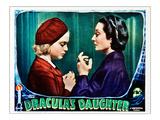 Dracula's Daughter, Nan Grey, Gloria Holden, 1936 Photo