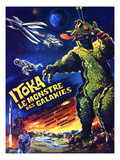 The X From Outer Space, (AKA Uchu Daikaiju Girara, AKA Itoka Le Monstre Des Galaxies), 1967 Posters