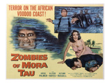 Zombies of Mora-Tau, Autumn Russell, Gregg Palmer, 1957 Photo