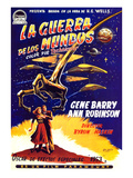 War of the Worlds, Bottom, Left to Right: Ann Robinson, Gene Barry, 1953 Posters