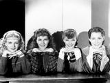 Little Women, Joan Bennett, Jean Parker, Katharine Hepburn, Frances Dee, 1933 Poster