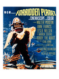 Forbidden Planet, Left: Robby the Robot, 1956 Poster