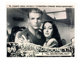 Flash Gordon, Chapter 5: 'The Destroying Ray,' From Left: Buster Crabbe, Priscilla Lawson, 1936 Photo