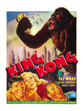 King Kong, 1933 Kunstdruck