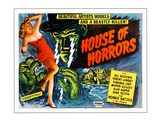 House of Horrors, L-R: Virginia Grey, Rondo Hatton, 1946 Photo