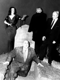 Plan 9 From Outer Space, Vampira, Tor Johnson, Dr. Tom Mason (Bela Lugosi's Double), Criswell, 1959 Foto