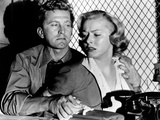 Detective Story, From Left: Kirk Douglas, Eleanor Parker, 1951 Photo