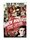 Buck Rogers, Larry Crabbe In 'Chapter 12: War of the Planets', 1940 Prints