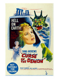 Night of the Demon, (AKA 'Curse of the Demon'), 1957 Plakaty