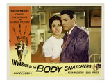 Invasion of the Body Snatchers, From Left, Dana Wynter, Kevin McCarthy, (Also Inset, Left), 1956 Posters