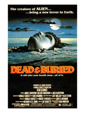 Dead & Buried, (AKA Dead And Buried), 1981 Plakaty