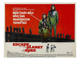 Escape From the Planet of the Apes, L-R: Kim Hunter, Roddy McDowall, 1971 Print