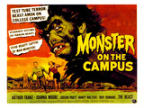 Monster On the Campus, Arthur Franz (Top), 1958 Plakaty