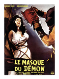 Black Sunday, (AKA Le Masque Du Demon AKA La Maschera Del Demonio), Left: Barbara Steele, 1960 Posters