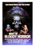 Night of Bloody Horror, Gerald McRaney, 1969 Posters