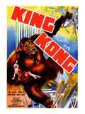 King Kong, 'King Kong' Holding Fay Wray Atop the Empire State Building, 1933 Posters