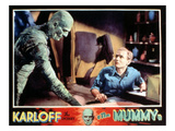 The Mummy, Boris Karloff, Bramwell Fletcher, 1932 Photo