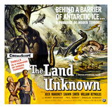 The Land Unknown, Bottom Left From Left: Shawn Smith (AKA Shirley Patterson), Jock Mahoney, 1957 Plakát