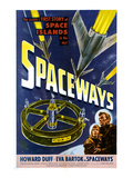 Spaceways, Eva Bartok, Howard Duff, 1953 Photo