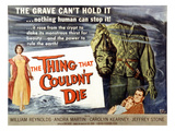 The Thing That Wouldn't Die, Andra Martin, Robin Hughes, Carolyn Kearney, William Reynolds, 1958 Print