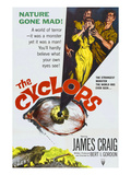 The Cyclops, From Left: James Craig, Gloria Talbott, Lon Chaney, Jr., 1957 Photo