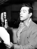 Mario Lanza on His Radio Show 'The Mario Lanza Show', March 21, 1952 Photo