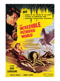 The Incredible Petrified World, John Carradine, 1959 Posters