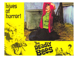 The Deadly Bees, Catherine Finn, 1967 Posters