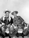 Ride 'Em Cowboy, Lou Costello, Bud Abbott [Abbott and Costello], 1942 Print
