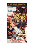 The Day the World Ended, Richard Denning, Lori Nelson, Paul Blaisdell, 1956 Posters