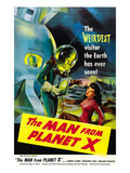 The Man From Planet X, Pat Goldin (As the Title Character), Margaret Field (Girl On Right), 1951 Prints