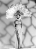 White Savage, Maria Montez, in a &#39;Sheerong&#39; (Sheer Sarong) Designed by Vera West, 1943 Posters