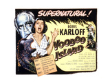 Voodoo Island, Beverly Tyler, Boris Karloff, 1957 Photo