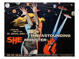 The Astounding She Monster, Shirley Kilpatrick, 1958 Reprodukcje