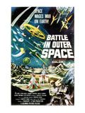 Battle In Outer Space, (AKA Uchu Daisenso), 1959 Posters
