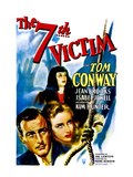 The Seventh Victim, Tom Conway, Kim Hunter, Jean Brooks, 1943 Photo