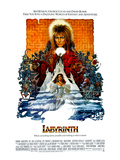 Labyrinth, David Bowie, Jennifer Connelly, 1986 Affiches