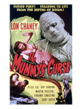 The Mummy's Curse, Virginia Christine, Lon Chaney, Jr., 1944 Plakaty