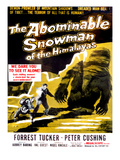 The Abominable Snowman, (AKA the Abominable Snowman of the Himalayas), Back, 1957 Posters