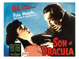 Son of Dracula, Louise Allbritton, Lon Chaney Jr., 1943 Photo