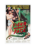Fiend Without A Face, Kim Parker (In Towel), Far Right: Marshall Thompson, 1958 Posters