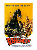 The Giant Behemoth, 1959 Print
